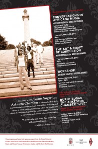 Burnt Sugar Residency at Brown University