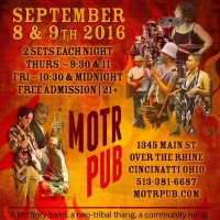 What You need to know about BSA's MOTR PUB Two Night stand