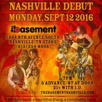 Burnt Sugar's Nashville Debut at The Basement
