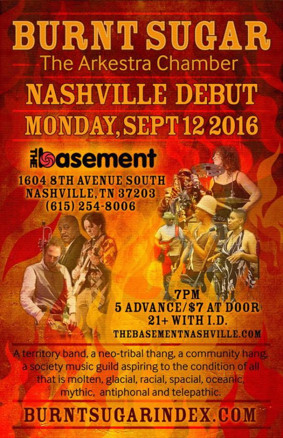 Burnt Sugar at The Basement Nashville
