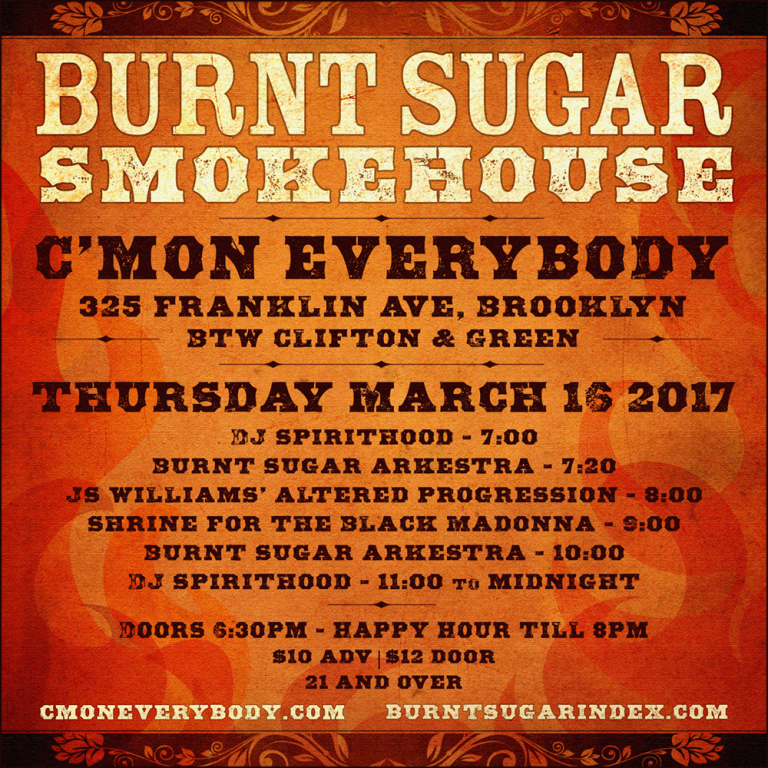 Burnt Sugar Smokehouse March 16, 2017